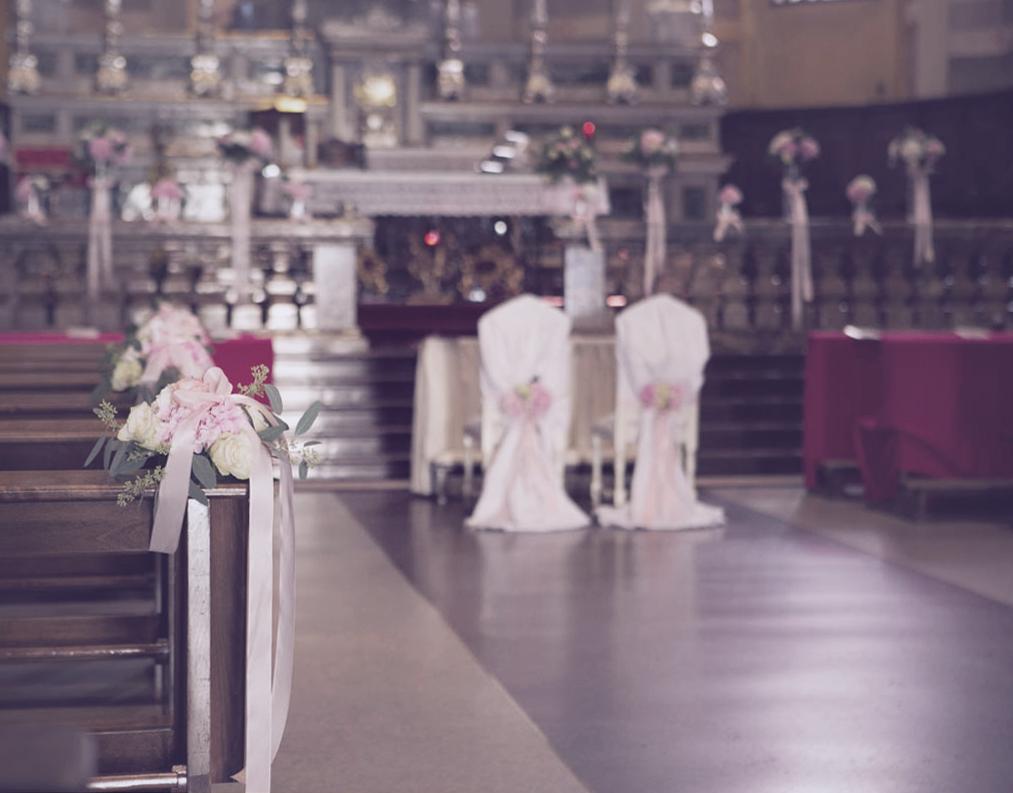 cerimonia fiori matrimonio
